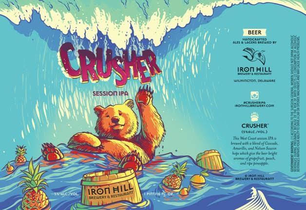 Iron Hill Crusher Session IPA