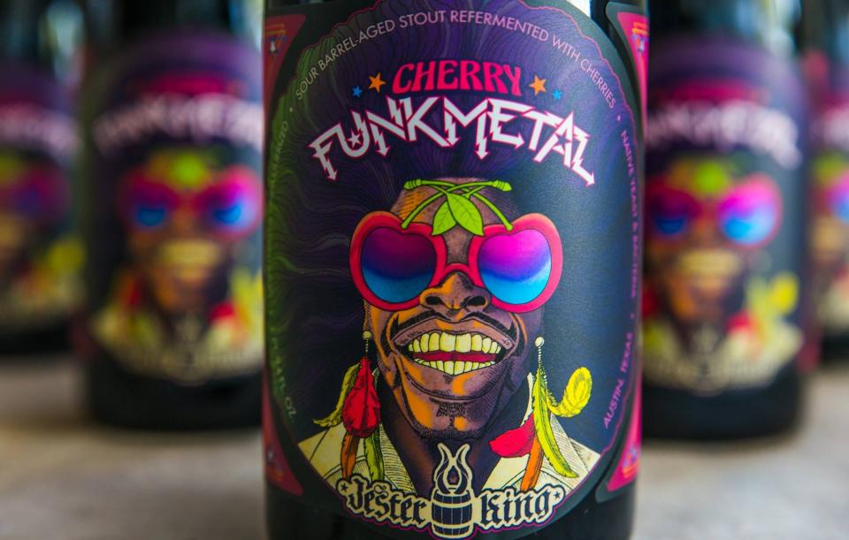 Jester King Cherry Funk Metal