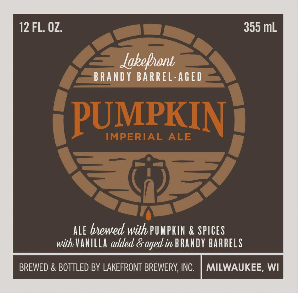 Lakefront Brandy Barrel-Aged Pumpkin Imperial Ale