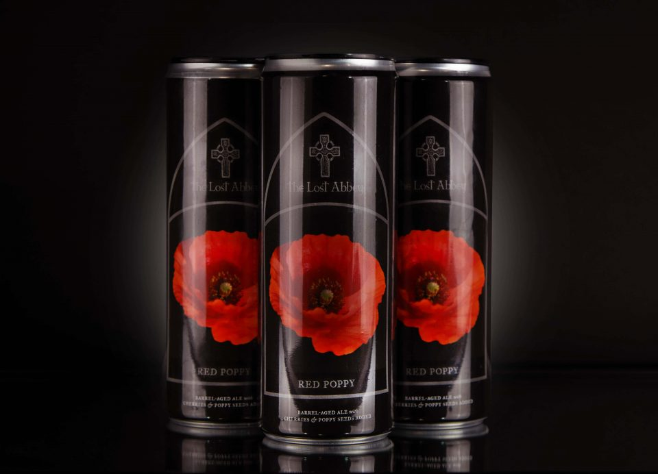 Lost Abbey Red Poppy cans