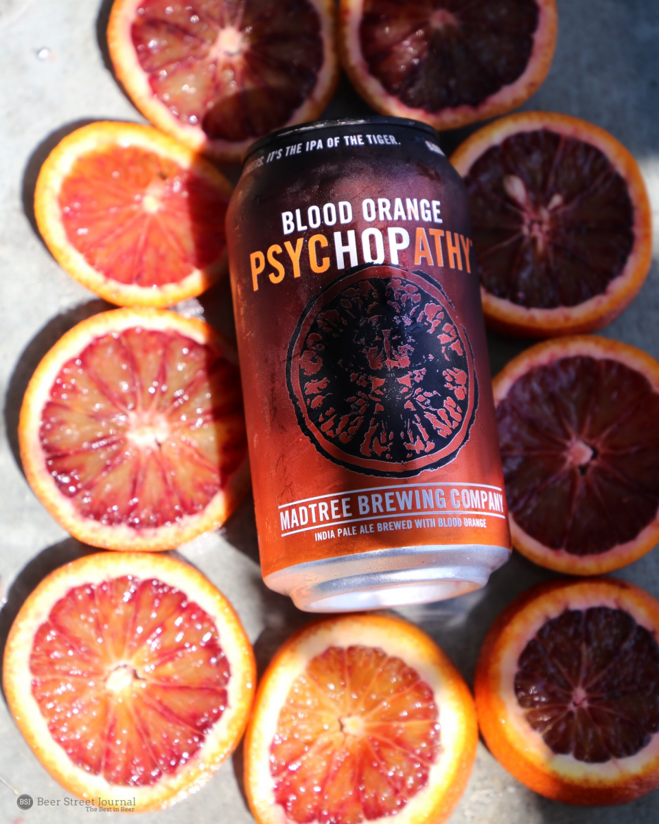 MadTree Blood Orange PsyHOPathy cans