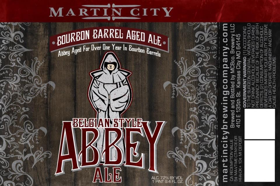 Martin City Bourbon Barrel Abbey Ale