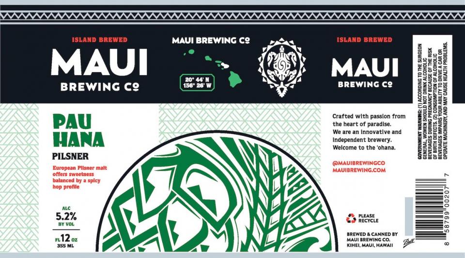 Maui Brewing Pau Hana