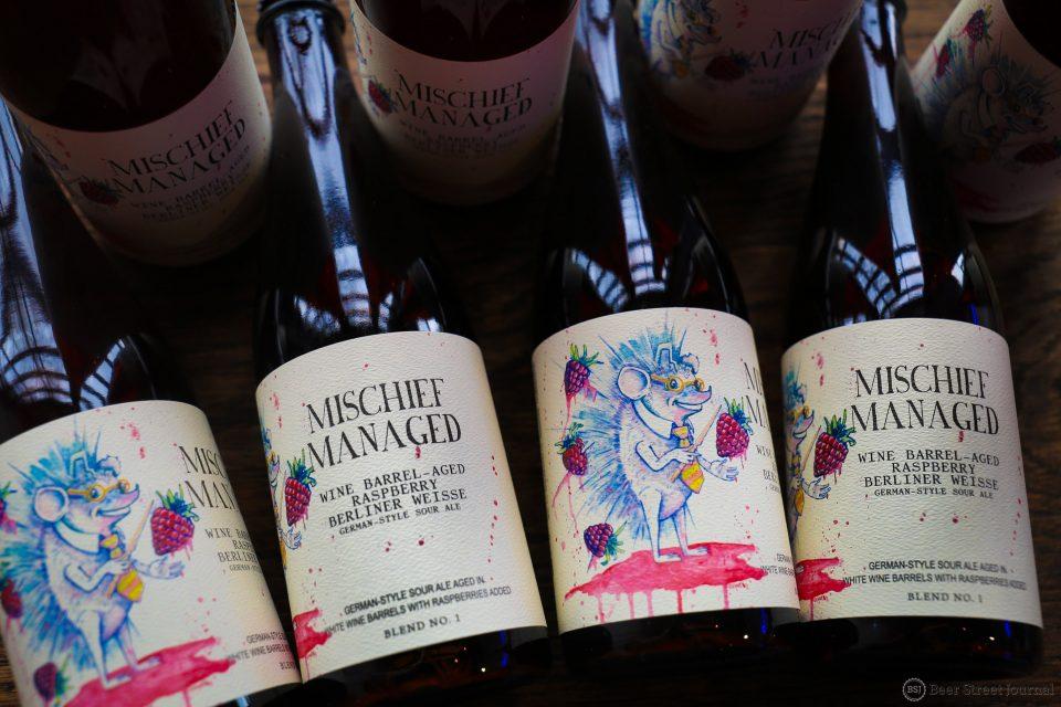 Monday Night Mischief Managed bottles
