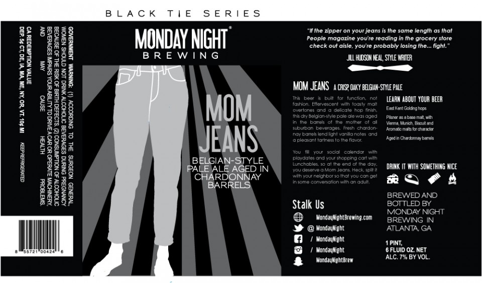 Monday Night Mom Jeans