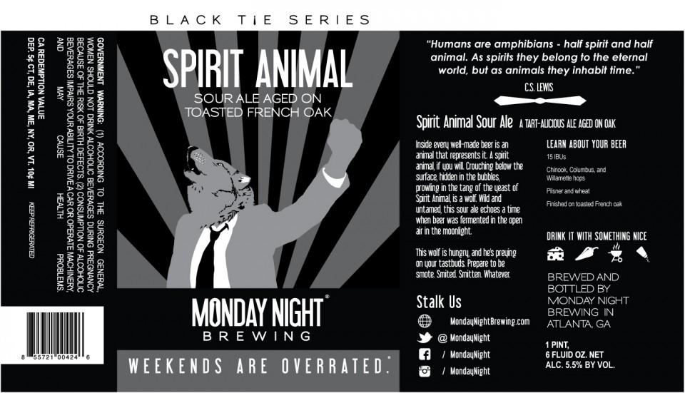 Monday Night Spirit Animal