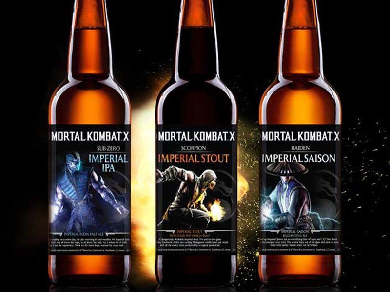 Mortal Kombat Beer