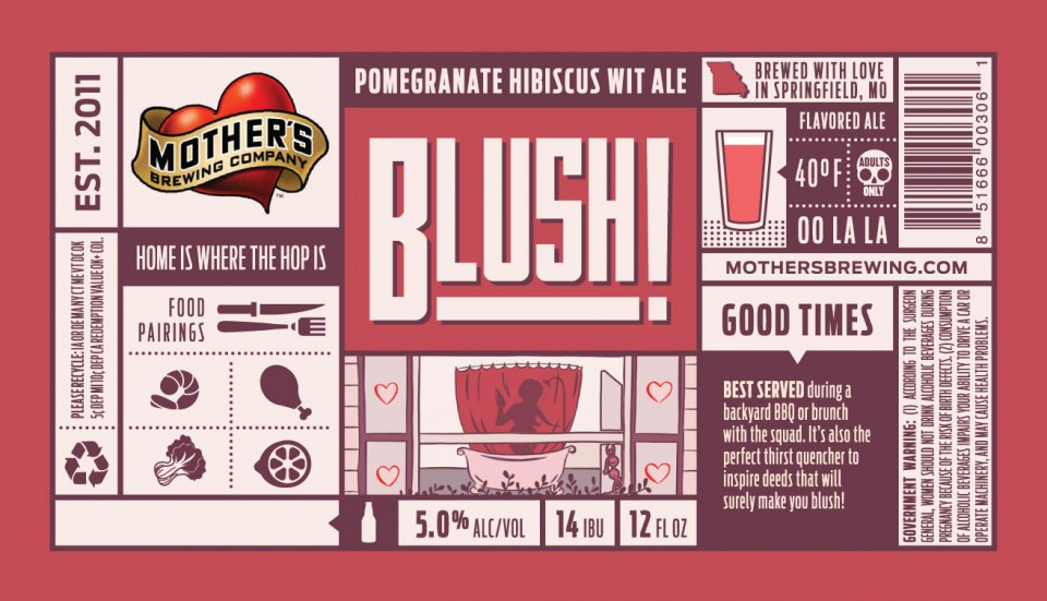 Mothers Brewing Blush!