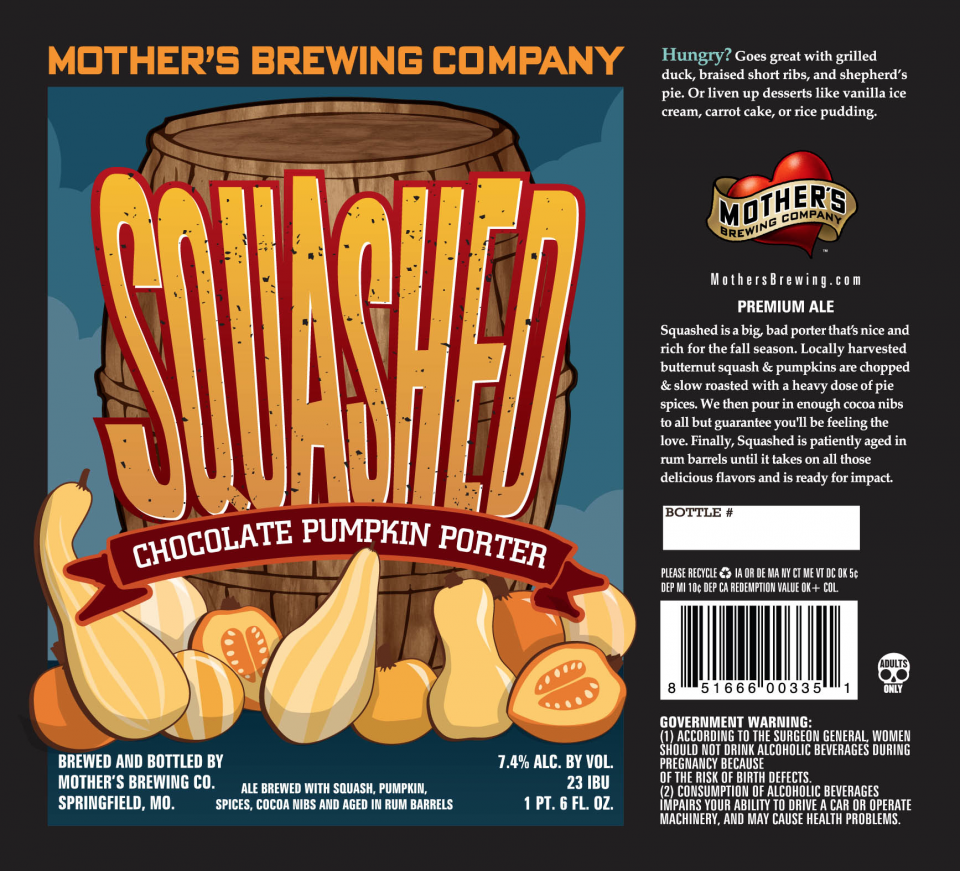 Mother's Brewing Squashed Chocolate Pumpkin Porter
