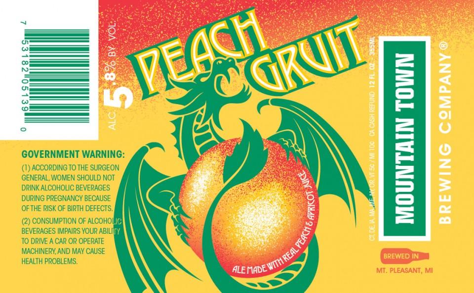 Mountain Town Peach Gruit