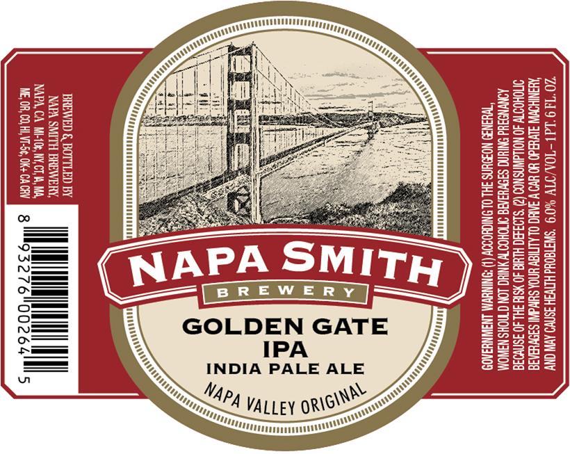 Napa Smith Golden Gate IPA