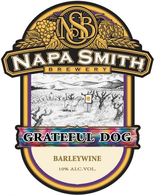 Napa Smith Grateful Dog