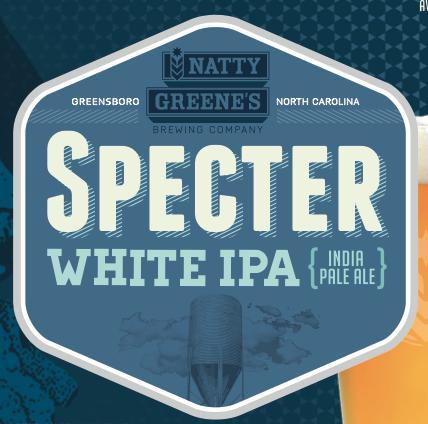 Natty Greene's Specter White IPA