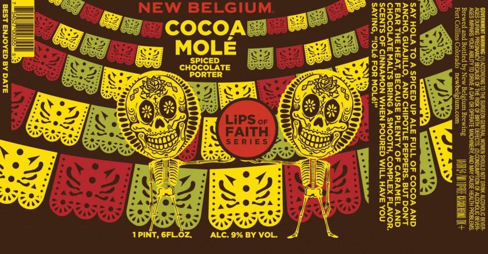 New Belgium Cocoa Mole Spiced Chocolate Porter