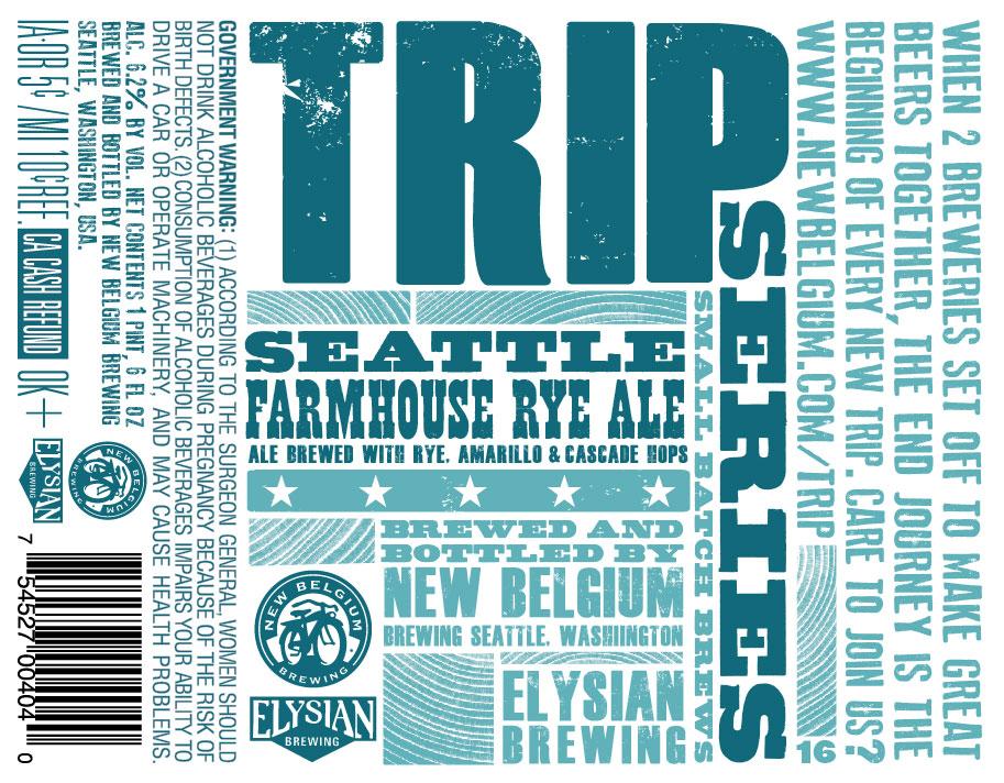 New Belgium Elysian Trip Farmhouse Ale