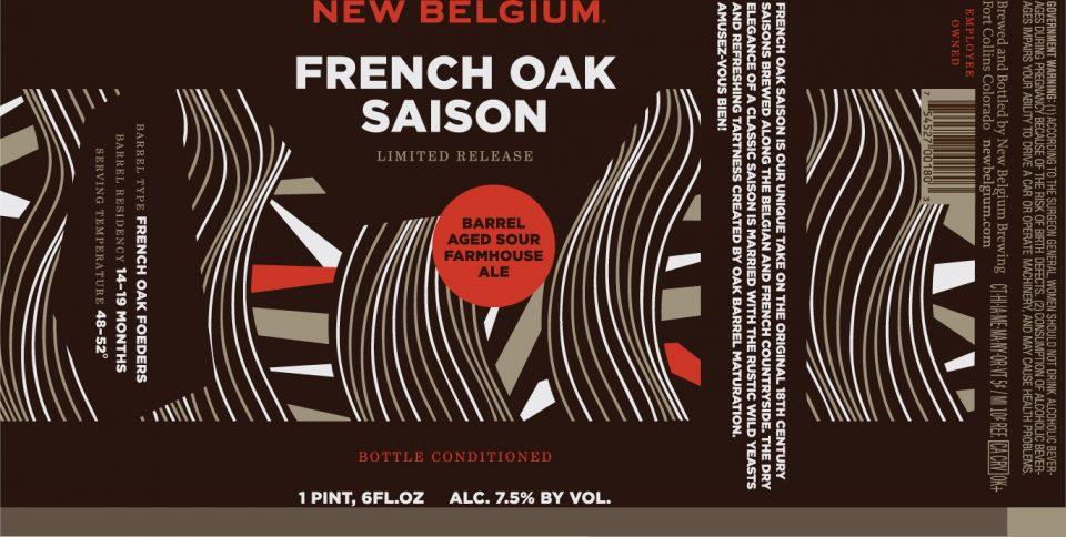 New Belgium French Oak Saison
