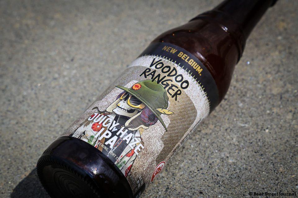 New Belgium Juicy Hazy IPA Bottle