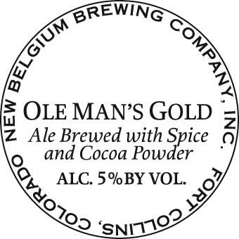 New Belgium Old Man's Gold
