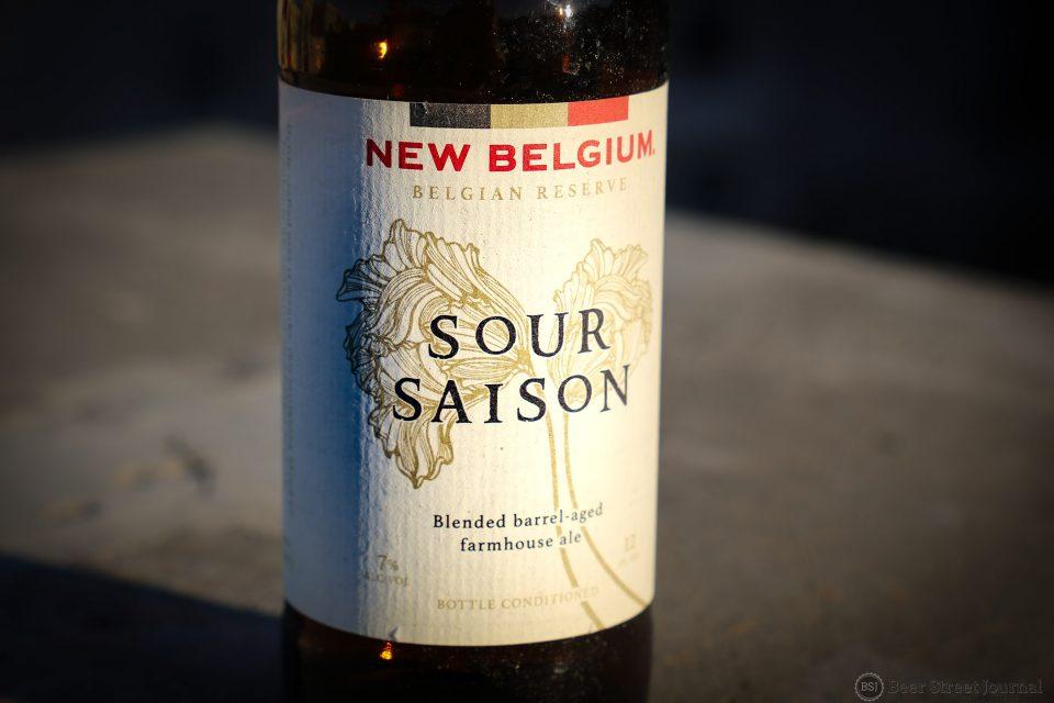 New Belgium Sour Saison Bottle