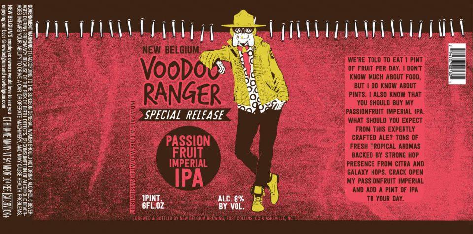 New Belgium Voodoo Ranger Passionfruit Imperial IPA