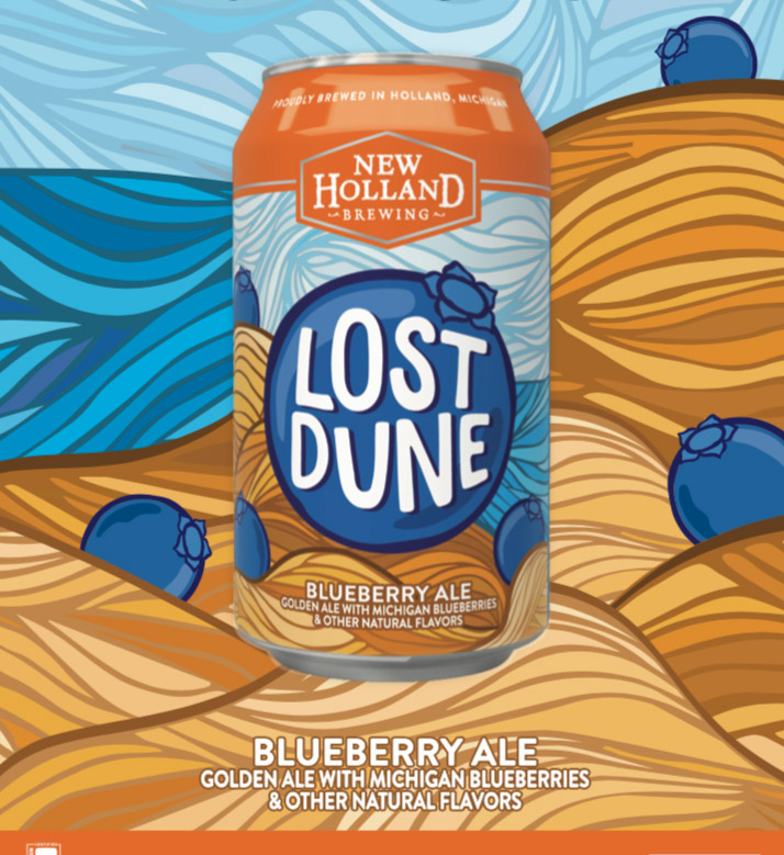 New Holland Lost Dune cans