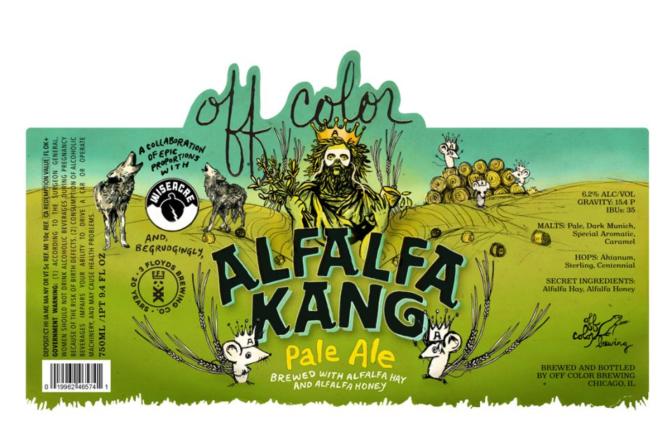 Off Color Alfalfa King Pale Ale