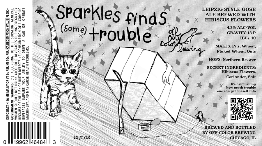 Off Color Sparkles Finds Some Trouble