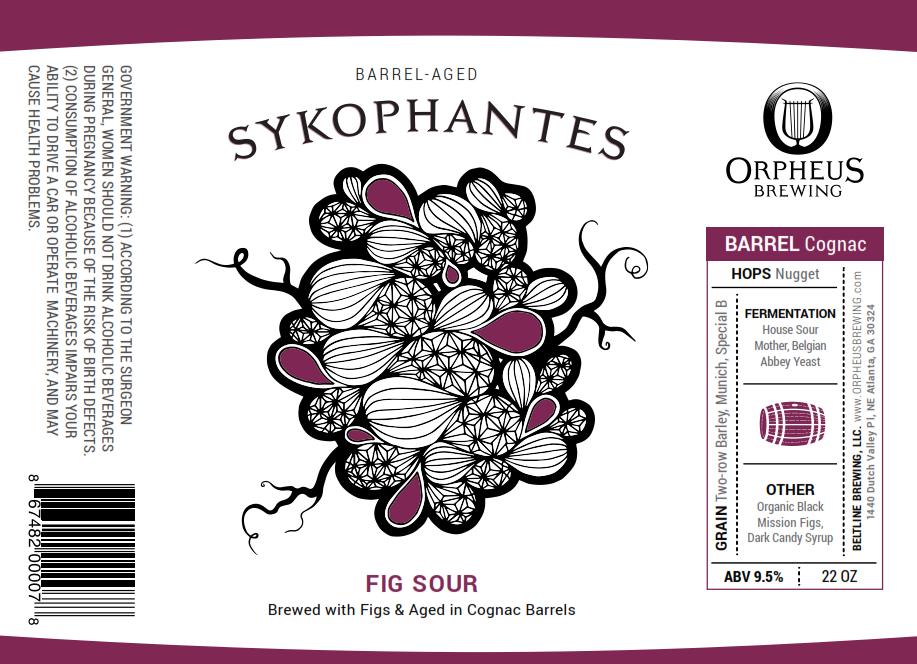 Orpheus Barrel Aged Sykophantes