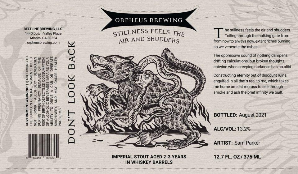 Orpheus - Stillness Feels the Air and Shudders