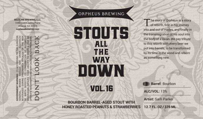 Orpheus - Stouts All the Way Down Vol 16