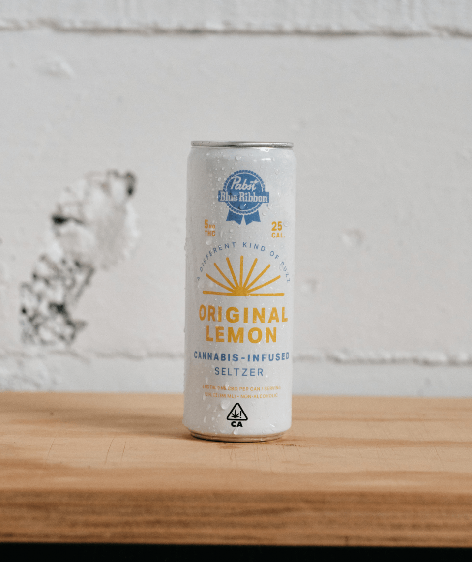 PBR Cannabis Infused Seltzer