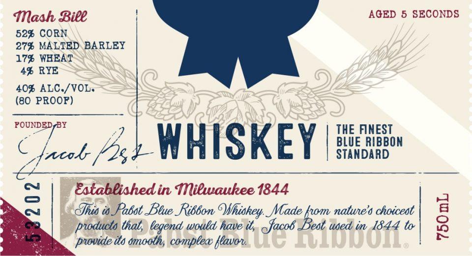 Pabst Blue Ribbon Whiskey