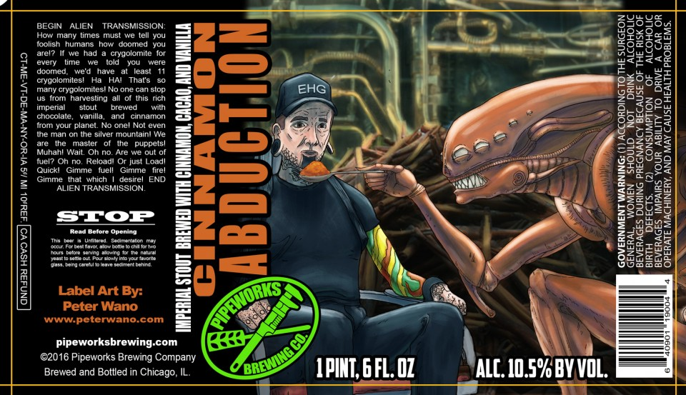 Pipeworks Cinnamon Abduction