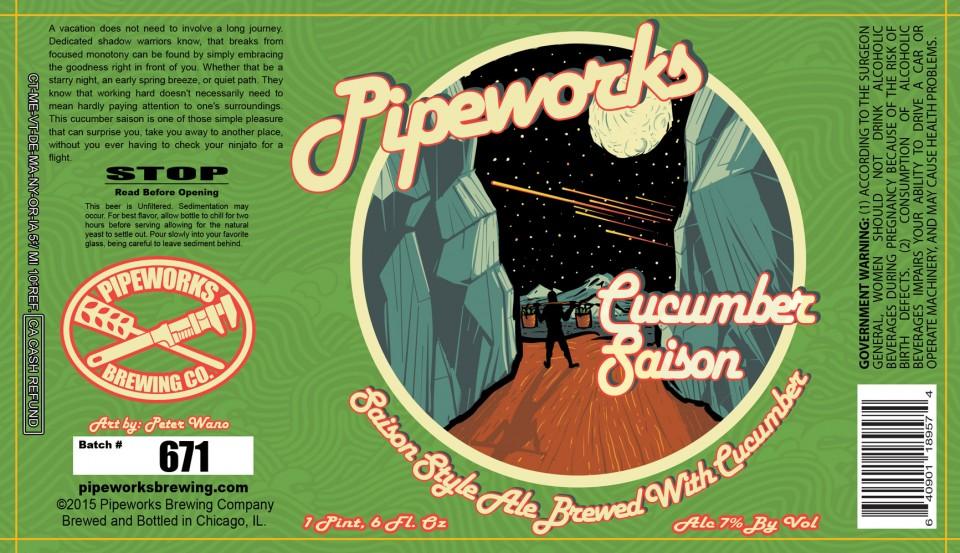Pipeworks Cucumber Saison