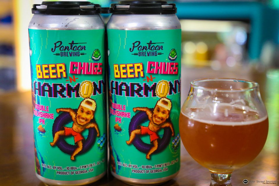 Pontoon Beer Chugs in a Cans
