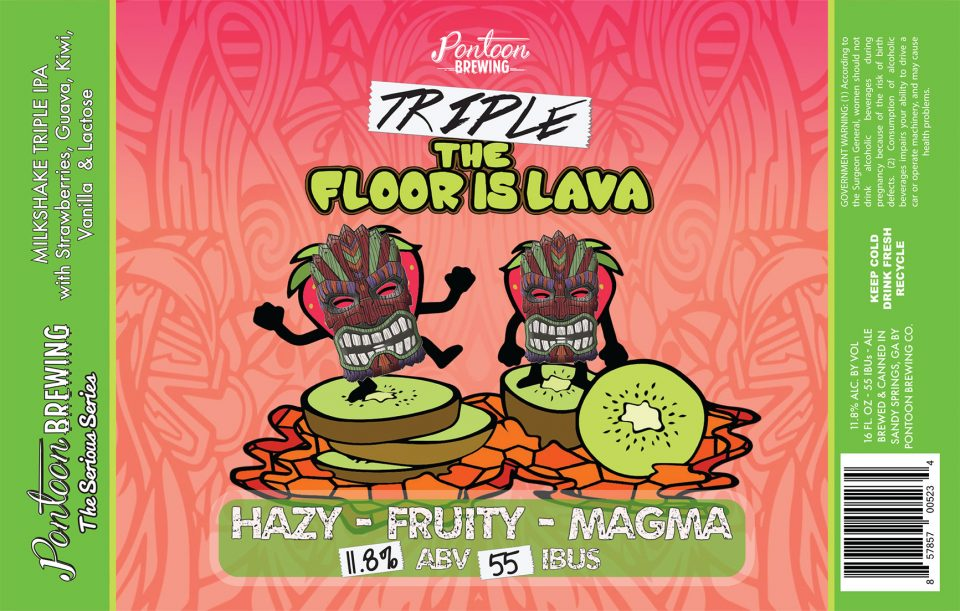 Pontoon Brewing Triple Floor is Lava