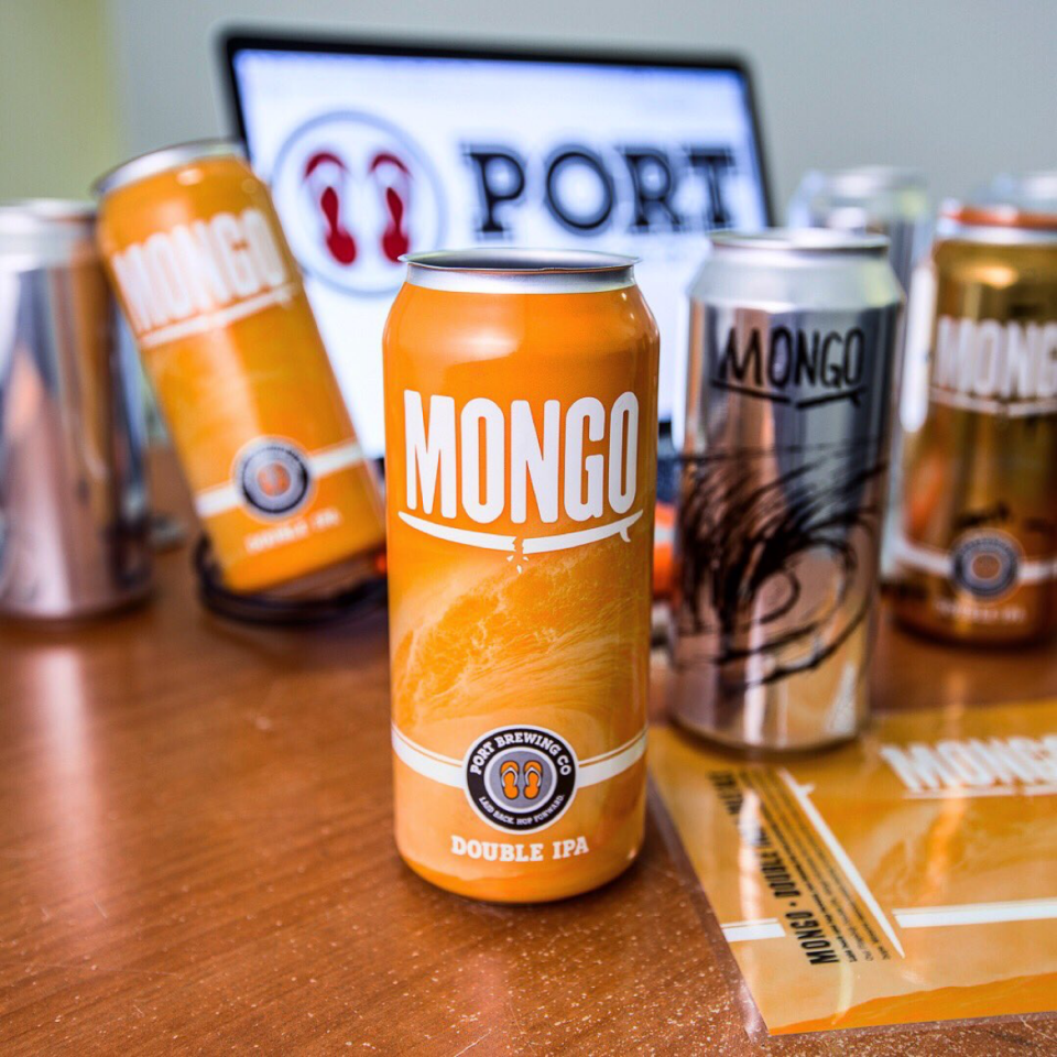 Port Brewing Mongo cans