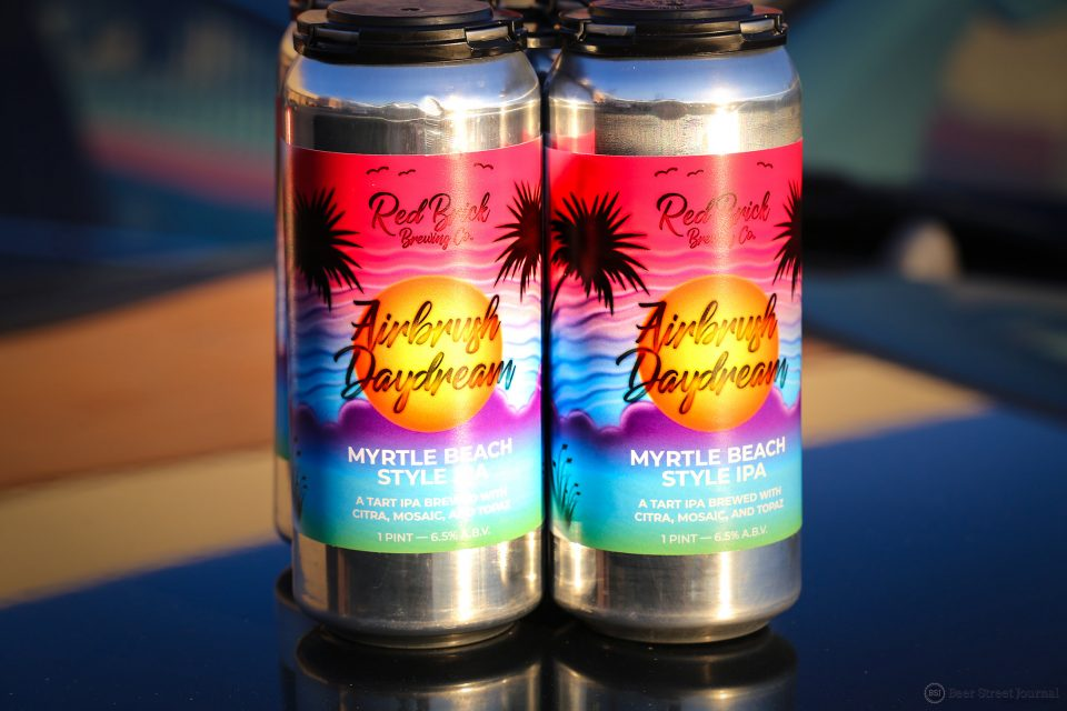 Red Brick Airbrush Daydream cans