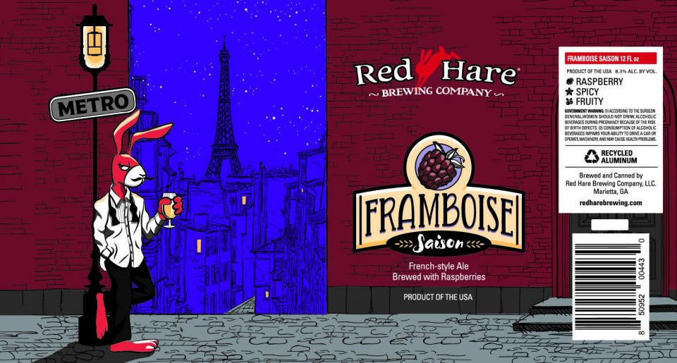 Red Hare Framboise Saison