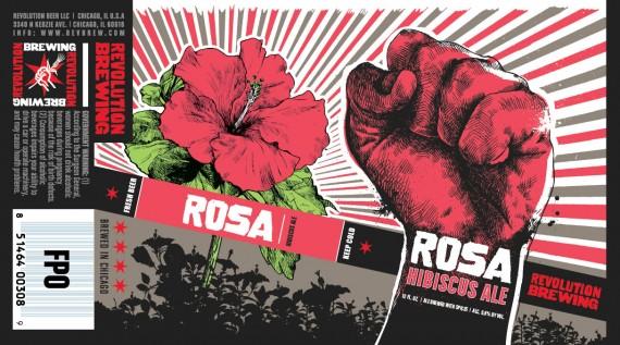 Revolution Rosa Hibiscus Ale