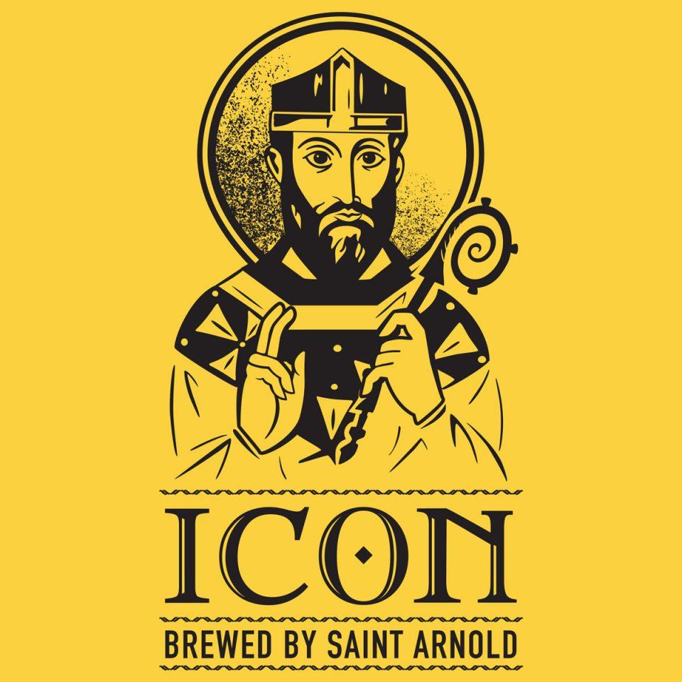 Saint Arnold Icon Gold