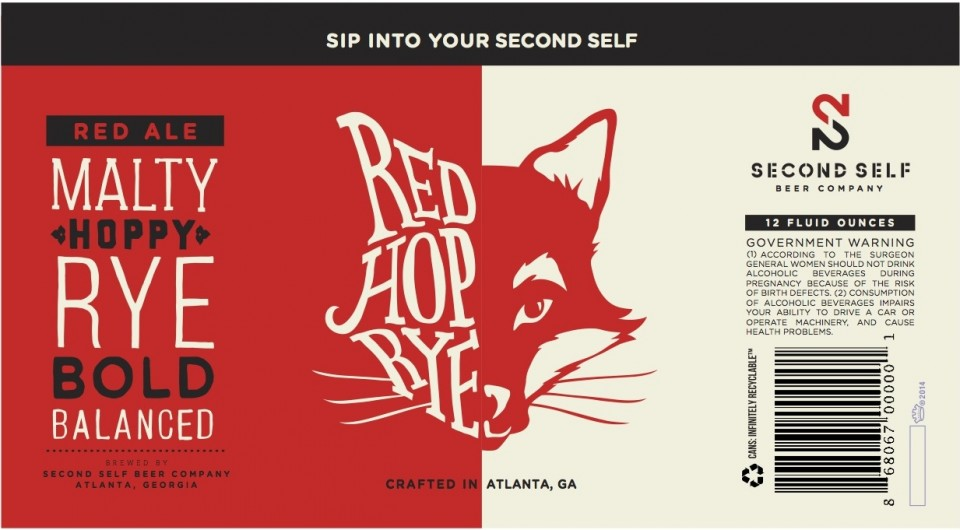 Second Self Beer Co. Red Hop Rye