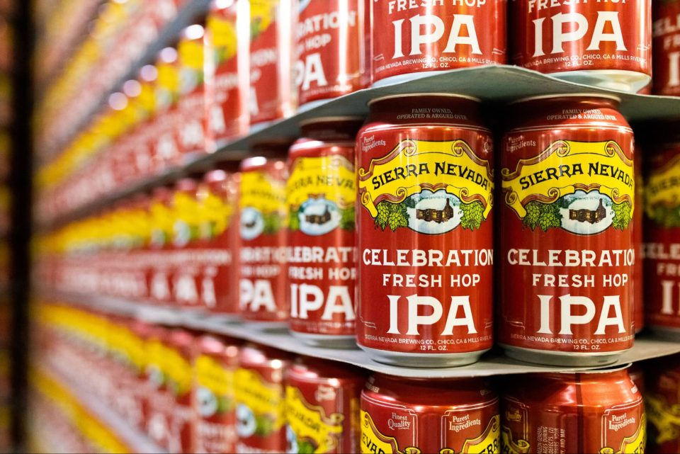 Sierra Nevada Celebration Cans
