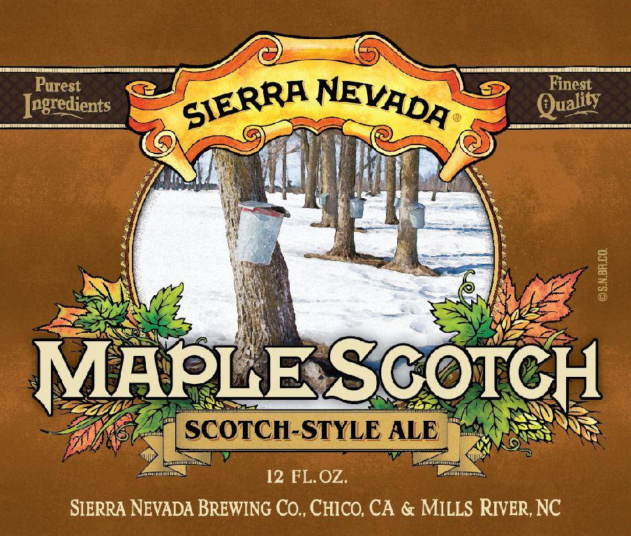 Sierra Nevada Maple Scotch