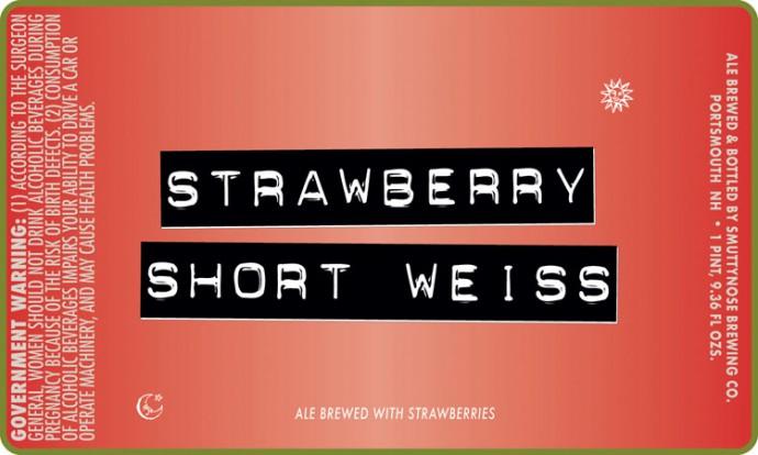 Smuttynose Strawberry Short Weiss