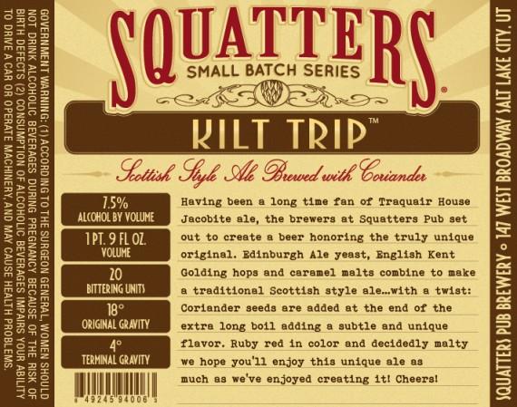 Squatters Kilt Trip