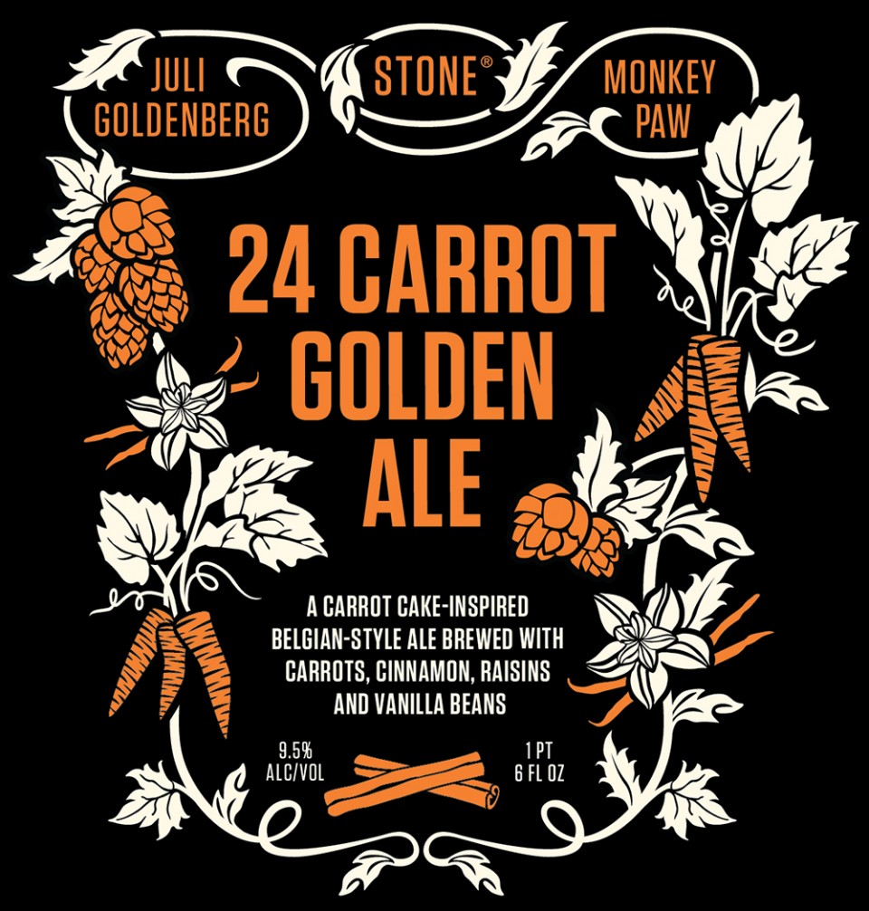 Stone 24 Carrot Golden Ale