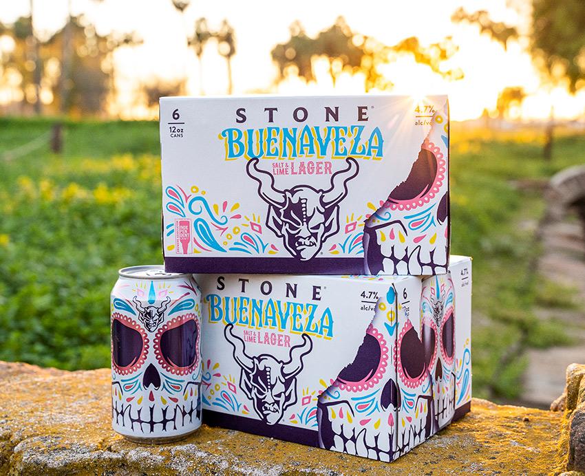 Stone Buenaveza Salt & Lime Lager