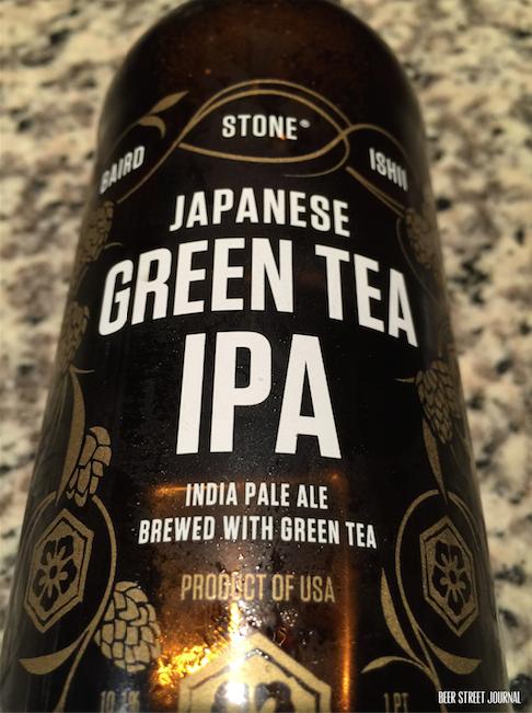 Stone Green Tea IPA 2015