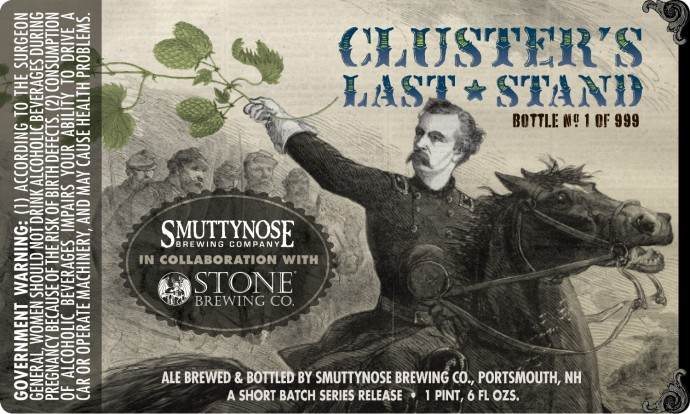 Stone Smuttynose Custer's Last Stand